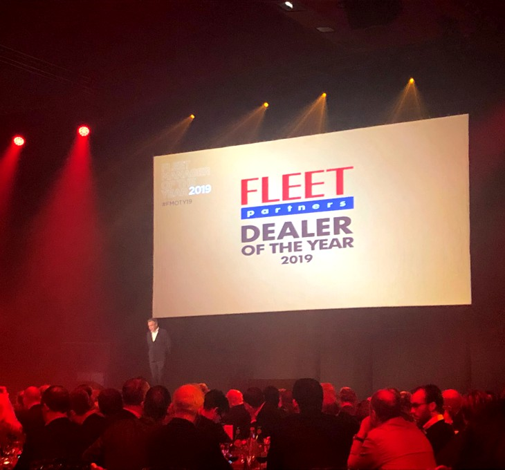 JENNES - Fleet Partners - Dealer of the Year 2019